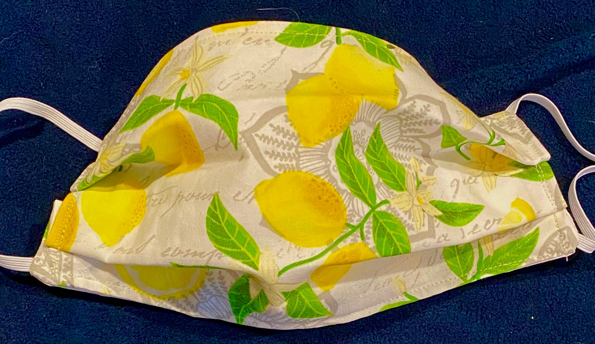 Italian Lemon Floral Mask!