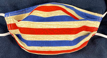 Load image into Gallery viewer, Corgi's w/ Red, White and Blue trim at Cheeks! Reversible TOO! (AFTER WASHING!)