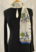 "Load image into Gallery viewer, Frédérique's Dressage Design 72"" X 18"" Modal Fabric Scarf"