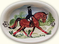 Dressage Soap Dish