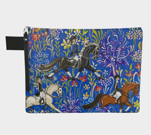 "Load image into Gallery viewer, ""Dressage in Provence"" Day Tote! Designed By Frederique Poulain."