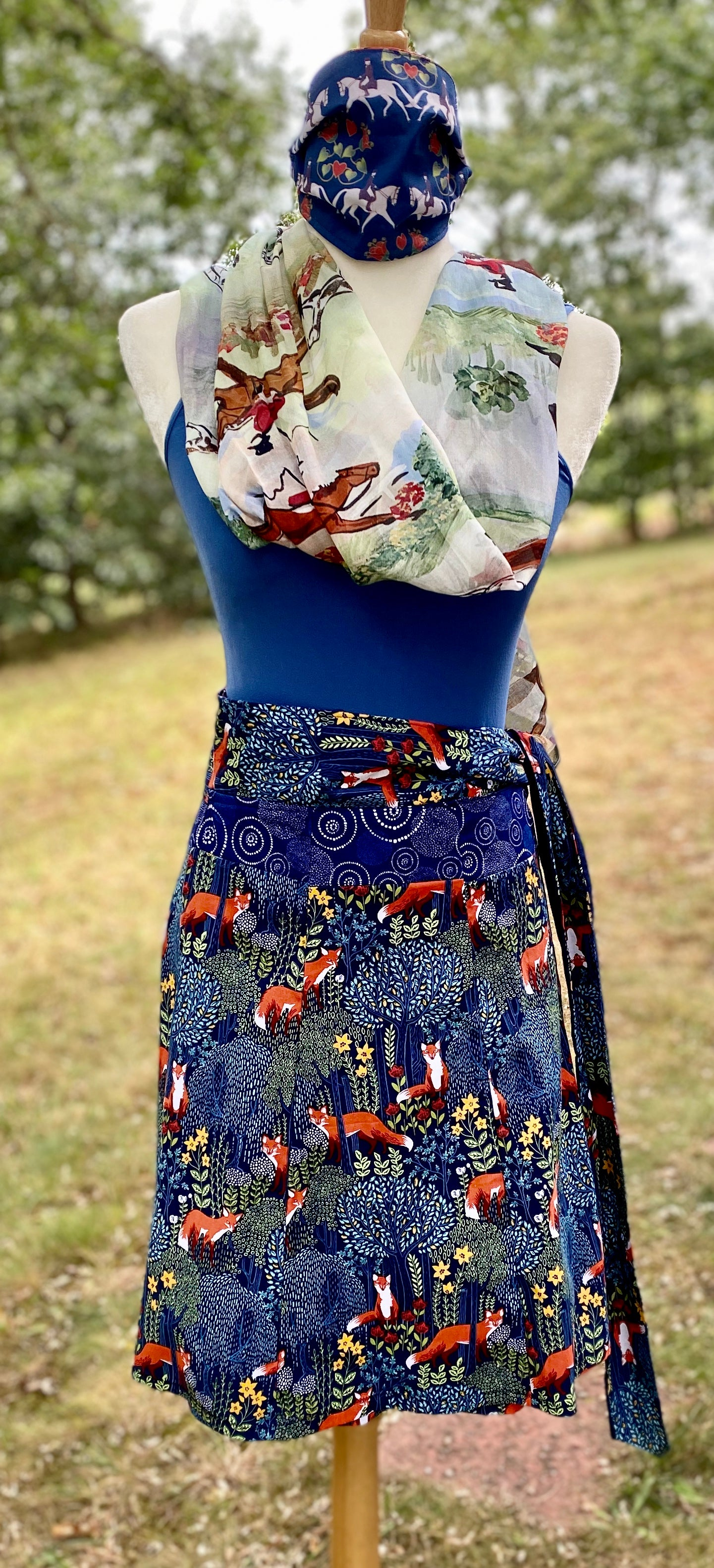 Wrap Skirt - Fox -