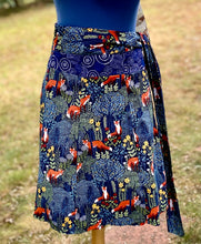 Load image into Gallery viewer, Wrap Skirt - Fox -