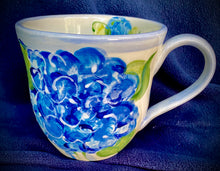 Load image into Gallery viewer, Ceramic Hydrangea Mugs & Tea Cups