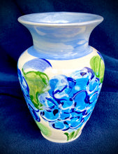 "Load image into Gallery viewer, 6"", 8"" & 10"" Ceramic Hydrangea Vases"