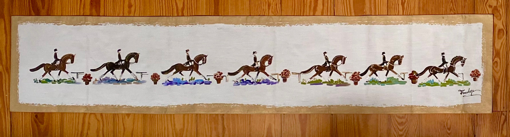 Dressage Table Runner 80