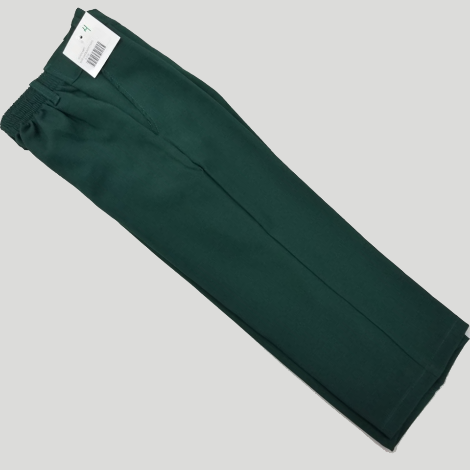 Green Long Primary School Uniform Pants