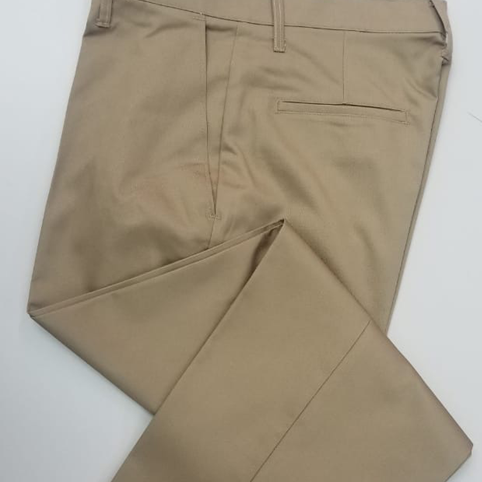 Long Khaki School Pants