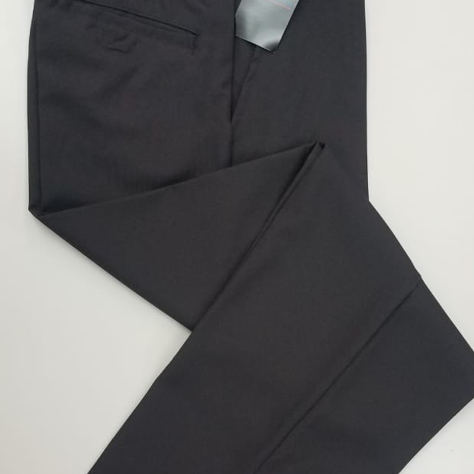 Charcoal Grey Long School Pants