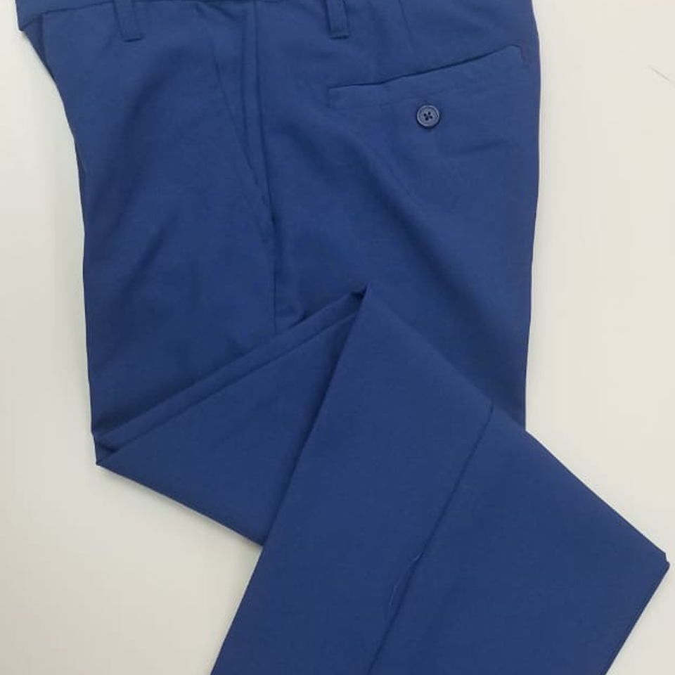 Royal Blue Long School Pants