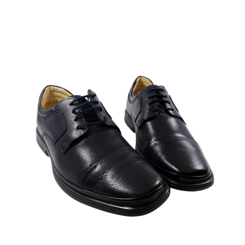 Mr. Jones - Black Leather Dress Shoe - Paul