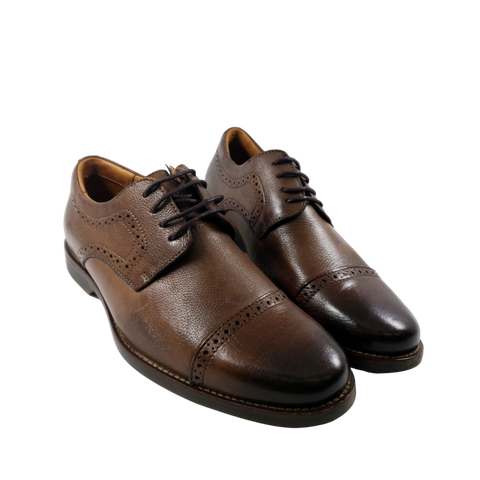 Mr. Jones - Brown Leather Dress Shoe - Xaca