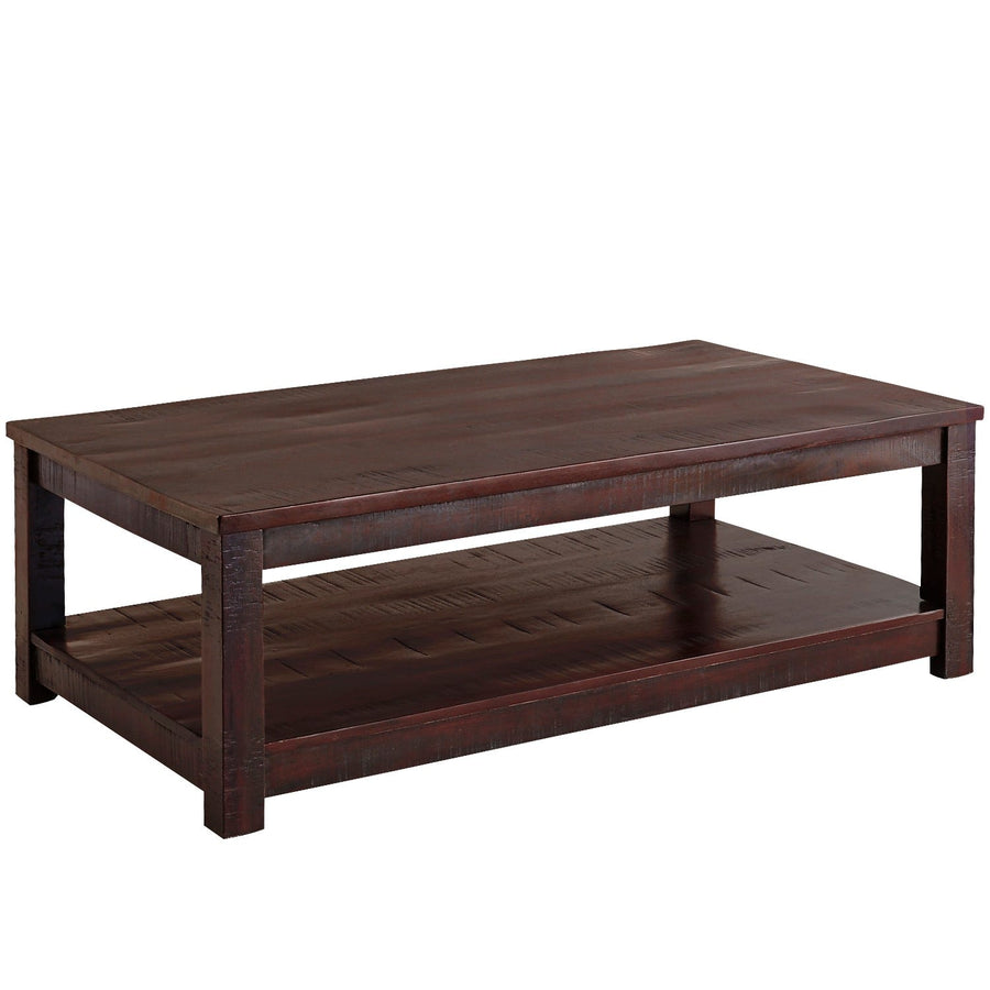 WOODEN COFFEE TABLE (LRG)