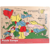 Europa Puzzle Holz Verpackung