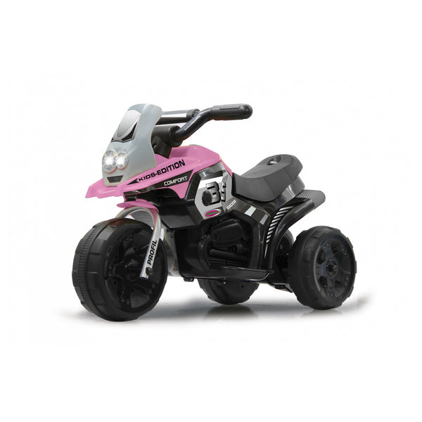 Ride on e-trike racer pink 6V