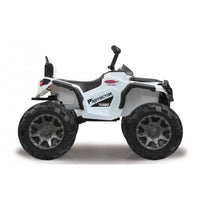 Ride on Quad Protector weiss seitlich