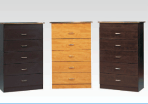 BCNG0075  5 DRAWER CHEST