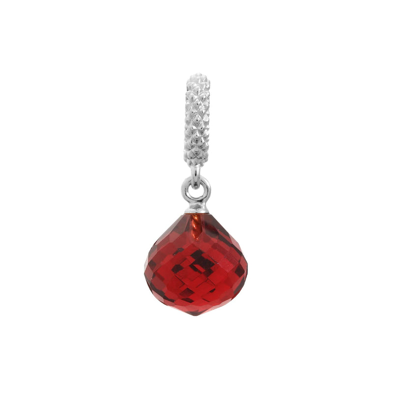 Ruby Mysterious Drop Silver