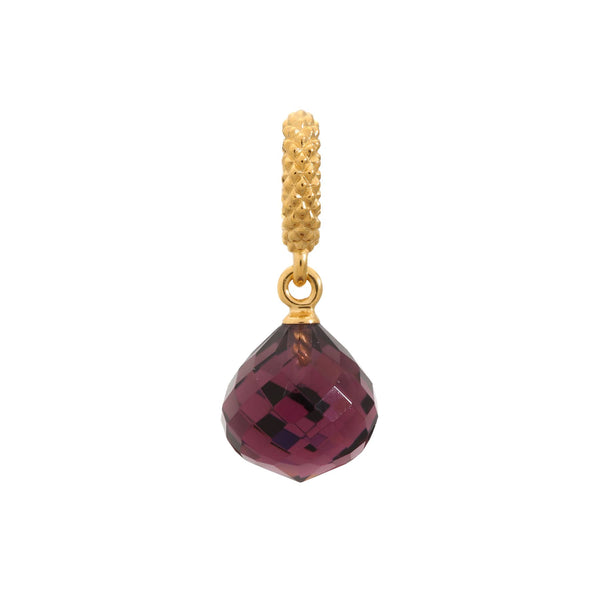Amethyst Mysterious Drop Gold