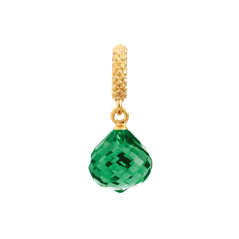 Emerald Mysterious Drop Gold