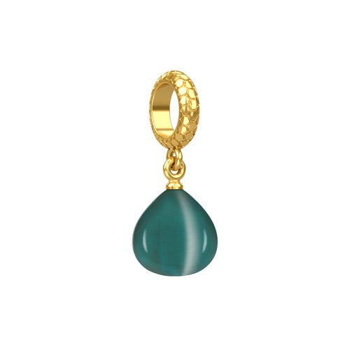 Teal Snake Eye Gold - Endless Nordic