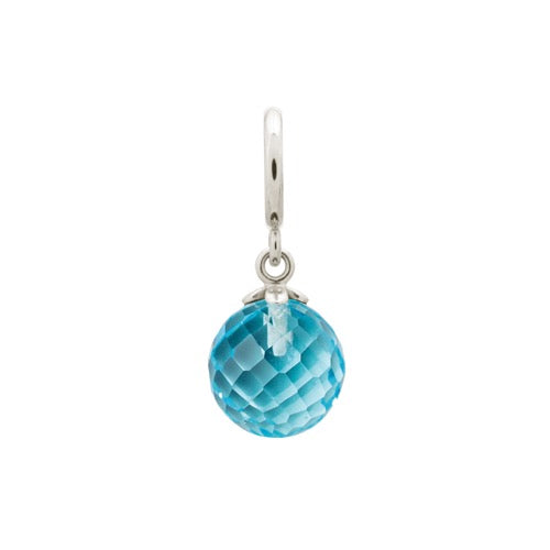 Sky Blue Love Drop Silver - Endless Nordic