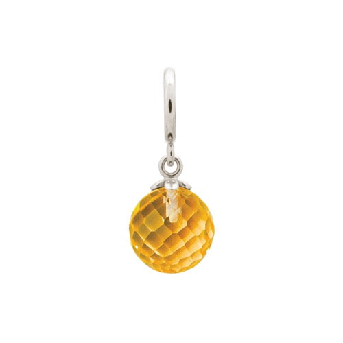 Citrine Love Drop Silver - Endless Nordic