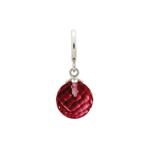 Garnet Love Drop Silver - Endless Nordic