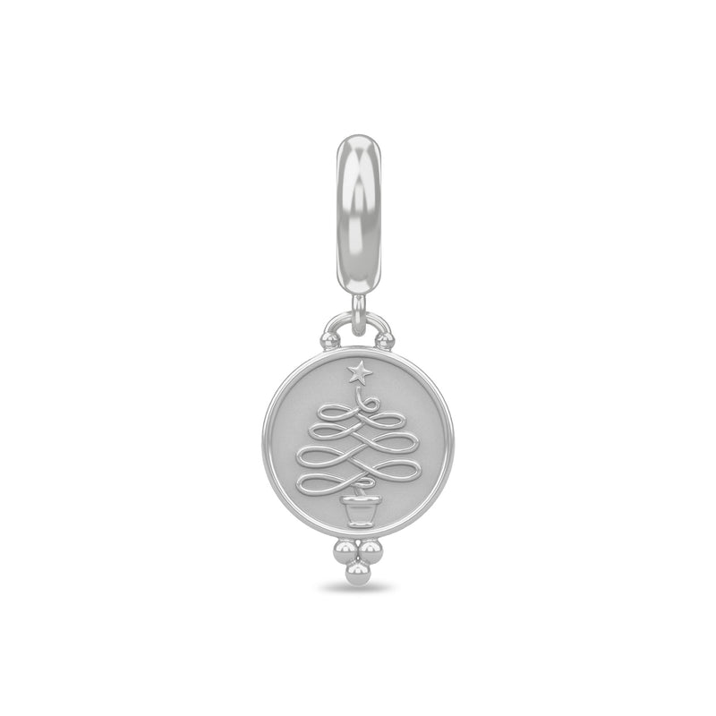 Christmas Tree Coin Silver