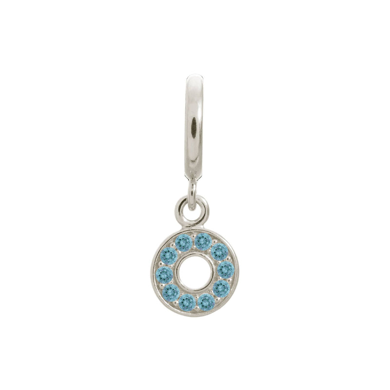 Sky Blue Circle of Love Silver