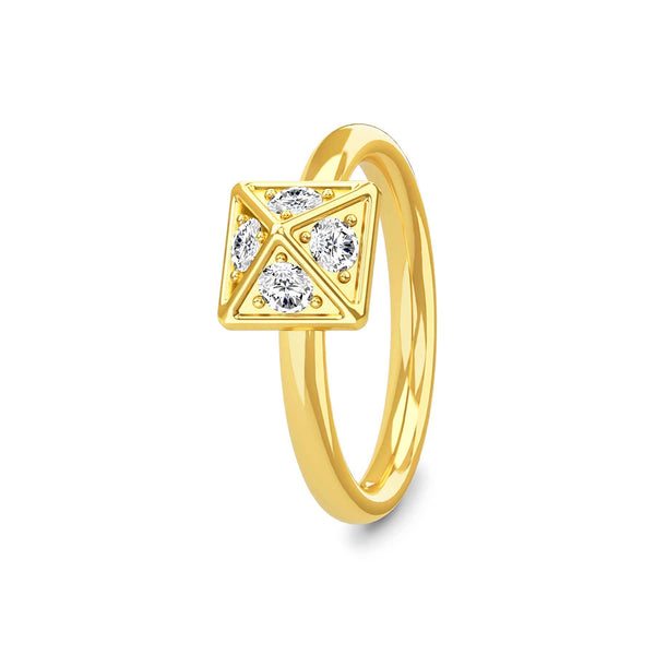 Royal Stud Ring Gold