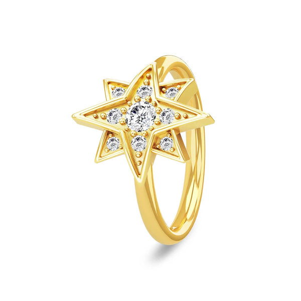 Royal Star Ring Gold