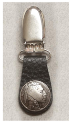 IndianHead Nickel Boot Clip