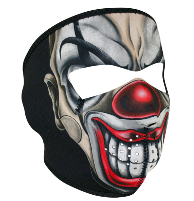 WNFM411 ZAN® Full Mask- Neoprene- Chicano Clown [50% Off]