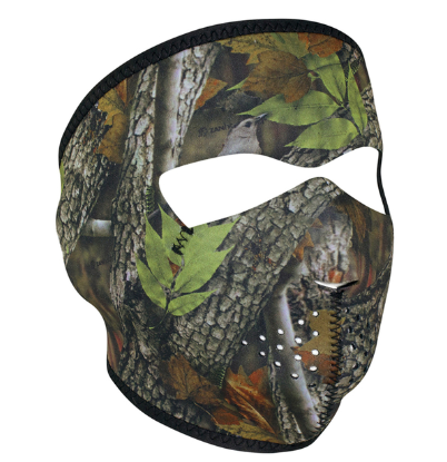 WNFM238 ZAN® Full Mask- Neoprene- Forest Camo [50% Off]