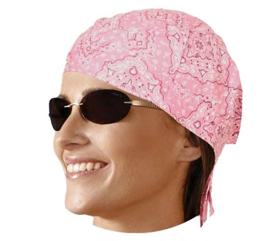 HW2615 Headwrap Paisley Pink [50% Off]