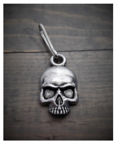 BZP-26 Skull Zipper Pull [50% Off]