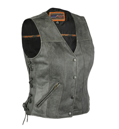 Women's Gray Single Back Panel Concealed Carry Vest [50% Off]