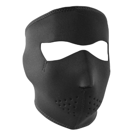 WNFM114 Zan® Full Mask- Neoprene- Black [50% Off]