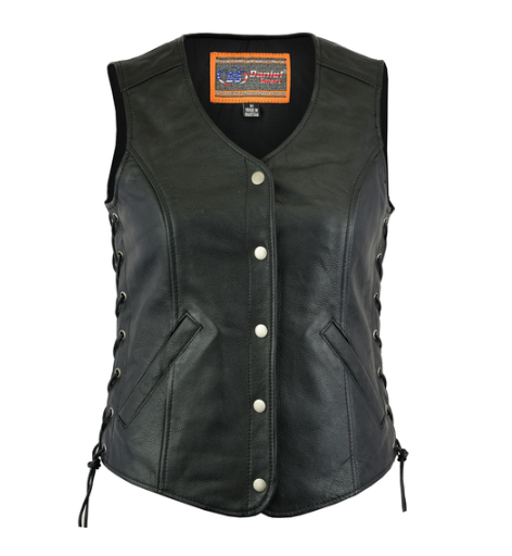 Women's Light Weight Open Neck Vest [50% Off]