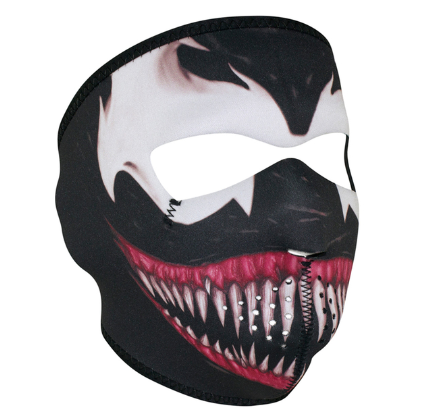 WNFM093 ZAN® Full Mask- Neoprene- Toxic [50% Off]