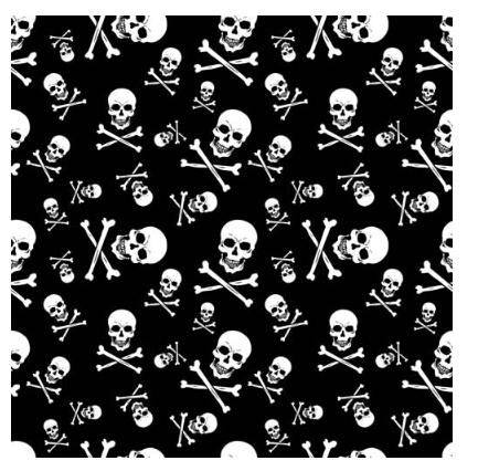 Bandana Skull And Crossbones [50% Off]