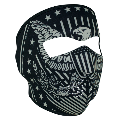 WNFM412 ZAN® Full Mask- Neoprene- Vintage Eagle [50% Off]
