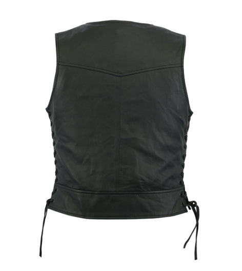 Women's Lightweight Vest With Rivets Detailing [50% Off]