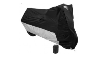 MC-904 Bike Cover- Black/silver [50% Off]