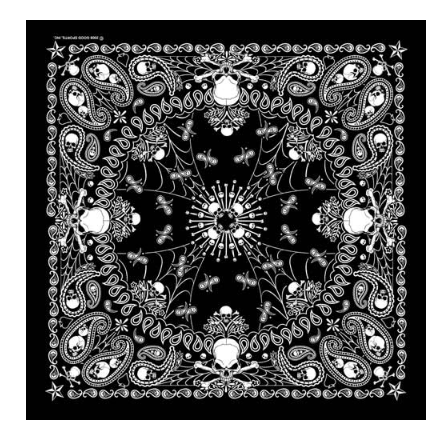 Bandana Paisley GS Skeletal [50% Off]