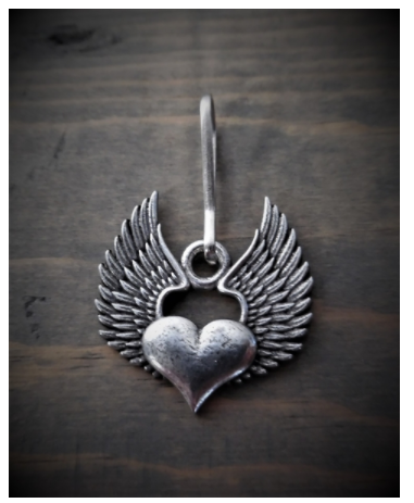 BZP-31 Heart Wing Zipper Pull [50% Off]