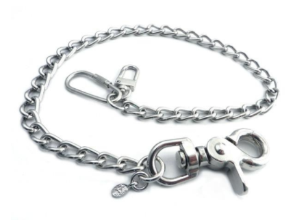 "NC180-25 Splicer Chrome Wallet Chain 22"" [50% Off]"