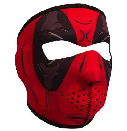 WNFM109 ZAN® Full Mask- Neoprene- Red Dawn [50% Off]