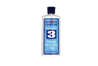 03008 Formula 3- Windsheild, Paint & Chrome Polish- 8oz [50% Off]